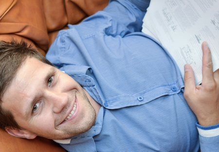 Professional young man smiling and looking at camera Stock Photo - 11962751