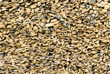 woodpile: Texture of a woodpile material Stock Photo