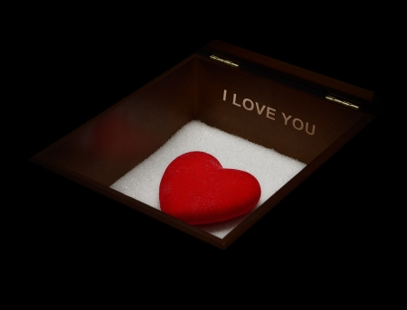 Romantic gift for the one you love Stock Photo - 15090485