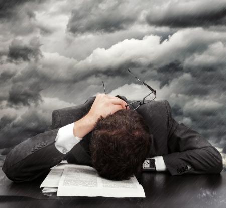 Concept about problems and frustration at work Reklamní fotografie