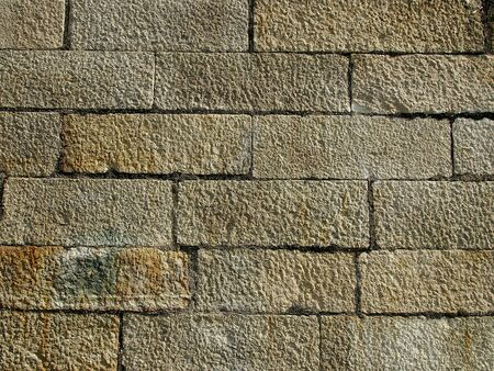 surface of big stone wall