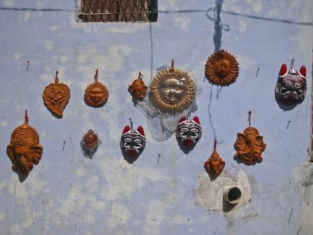 decorative of souvenir stall in india market
