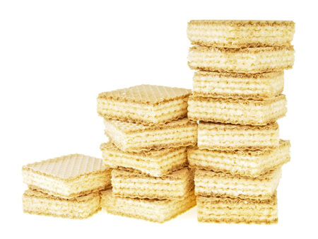 disordered: three step increase of disordered stack wafer as bar graph on white background