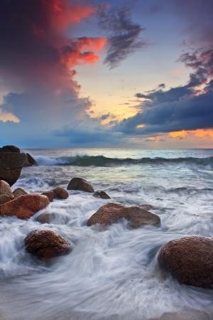 teluk cempedak beach Stock Photo
