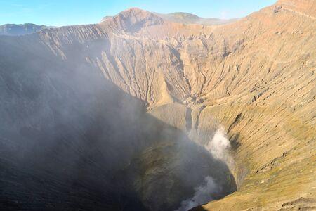 Amazing view of the Bromo caldera, Java, Indonesia