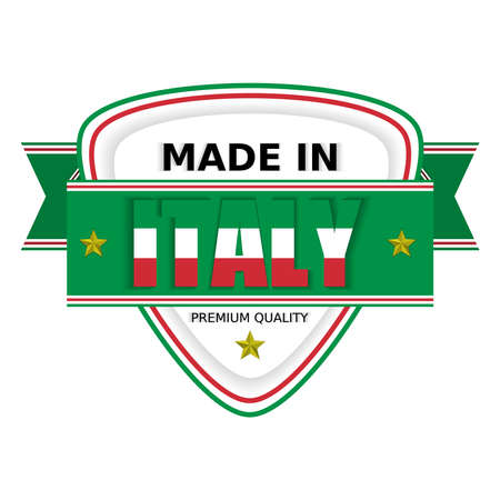 Vector illustration, Made in Italy, Premium Quality. Perfect for any use.