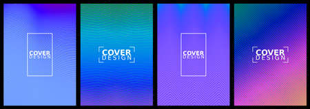 Set of modern abstract backgrounds for brochure design, flyer design, cover layout, business cards.