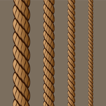 fastening: Rope Set 1 Drawing