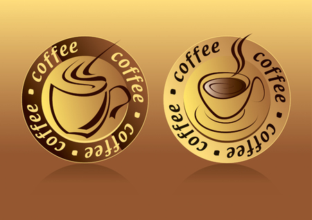valentine day cup of coffee: Coffee Logo Drawing