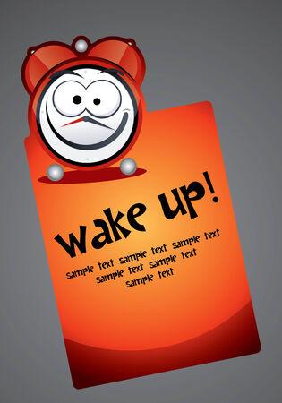 Alarm Clock Set 2  Wake Up Vector