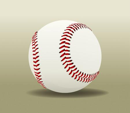 fast pitch: Baseball Ball 1 Drawing Illustration