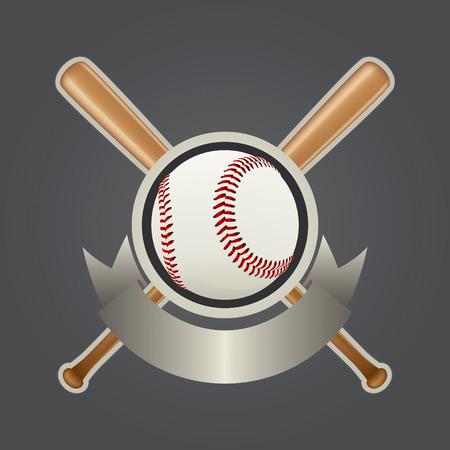 pelota beisbol: Realista de dise�o de b�isbol