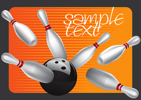 ten pin bowling: Bowling Ball Design Element