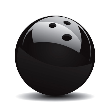 Bowling Ball Set 1 Vector Drawing Vector