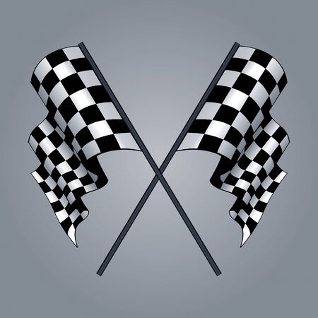 Checkered Flag drawing