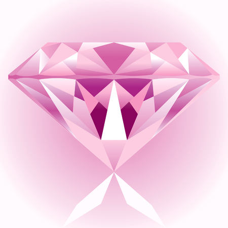 Diamond Pink Drawing