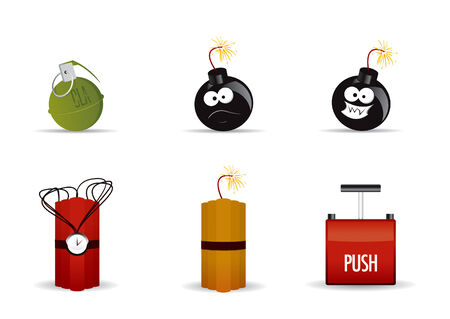 Explosives Illustration