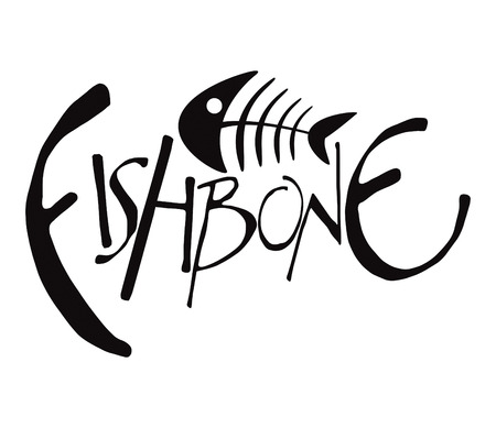 skeleton fish: Fishbone Drawing