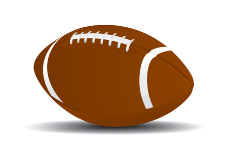 touchdown: Football Ball Drawing