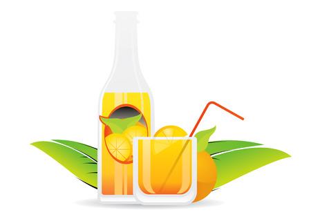 Fruit juice 1 Vector