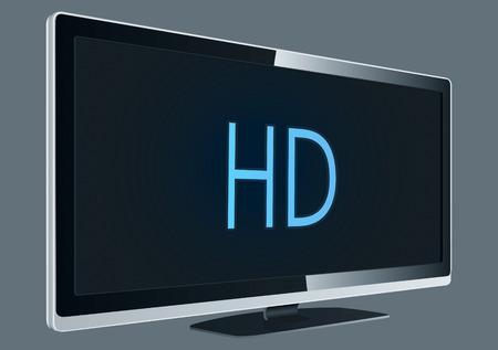 Full HD TV Drawing Stock Vector - 8643691