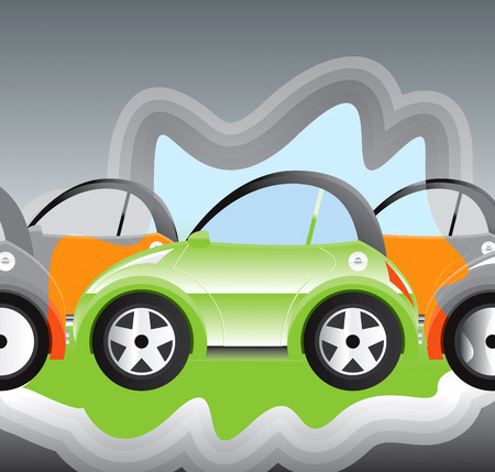 electric automobile: environmentally-friendly battery powered car