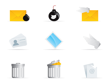 email bomb: Mail Icon
