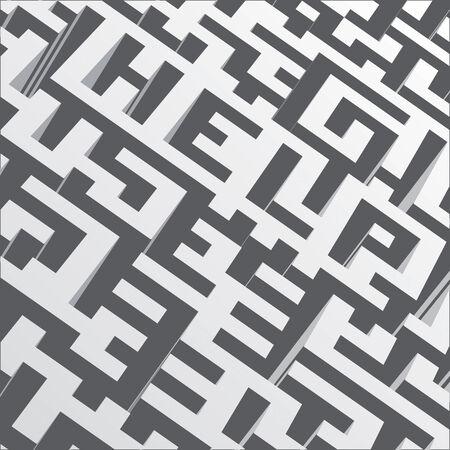 Maze Help drawing Vector