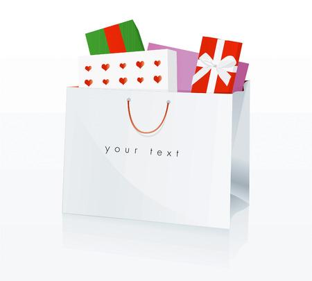 bolsa de regalo: Conjunto de la bolsa de compras
