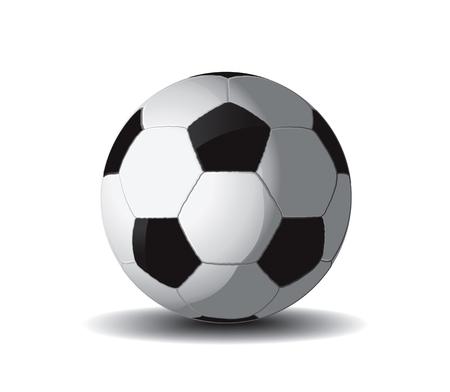 Soccer Ball Drawing Stock Vector - 8643824