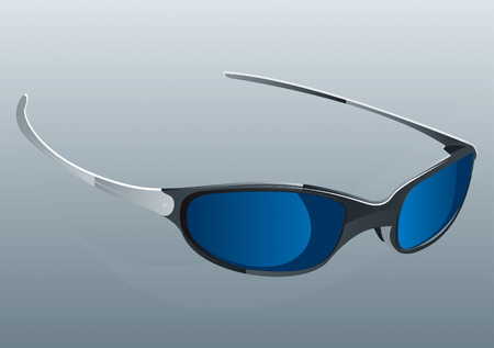 Sunglasses  Drawing Stock Vector - 8643796