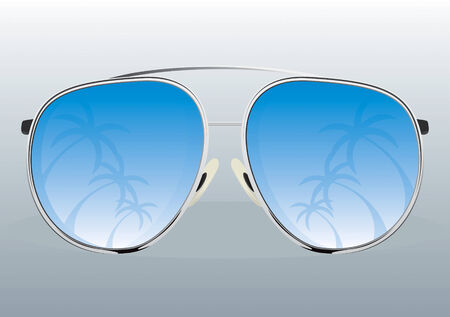 Sunglasses  Drawing Vector