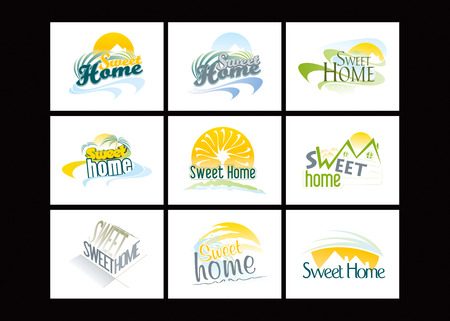 Sweet Home Stock Vector - 8643825