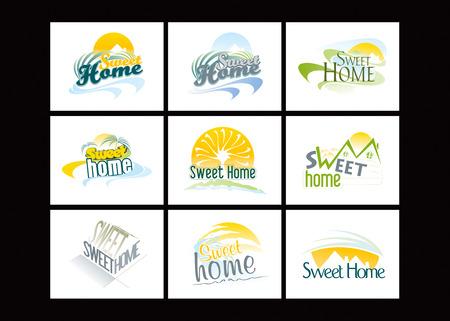 Sweet Home Stock Vector - 8643825