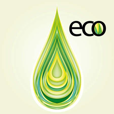 Ökologie Design-Element