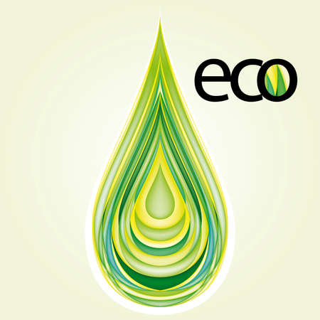 gas icon: Elemento di Design di ecologia