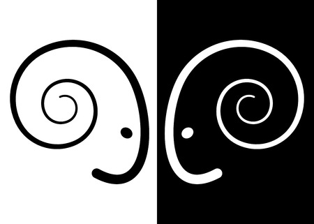 animal ram: Head ram is part of the drawing  ram head  Illustration