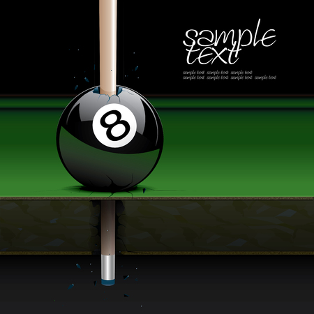 neglect: Drawing realistic billiard table and ball set 3