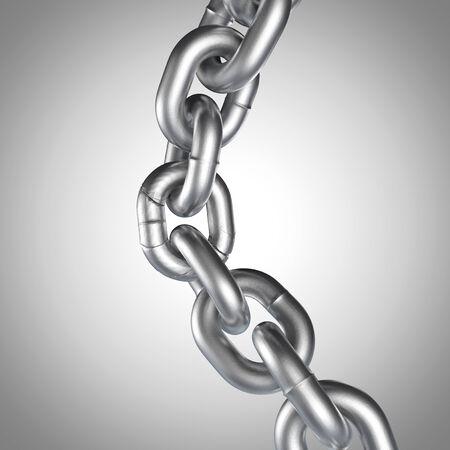broken unity: 3D realistic chain