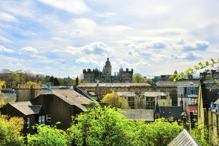 edinburgh in scotland Banque d'images