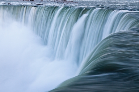 Water over Niagara Falls, Landscape