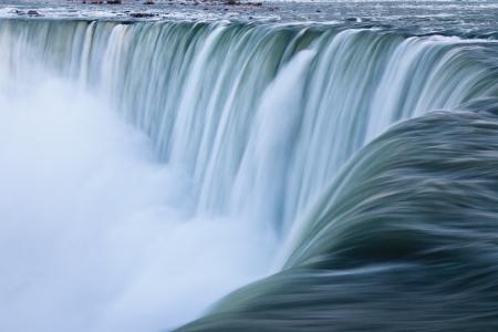 horseshoe falls: Water over Niagara Falls, Landscape