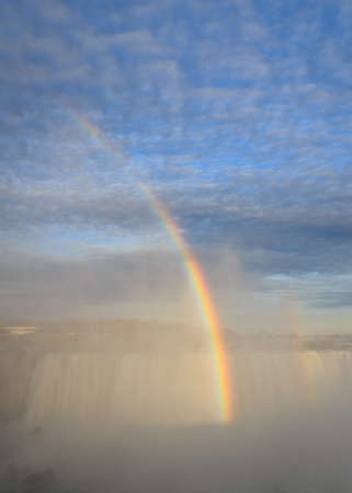 Rainbow Rising over Niagara Falls