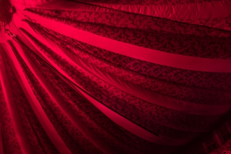 Red Fabric Circus Tent From The Inside With Trapeeze Rope Stock Photo Picture And Royalty Free Image. Image 25029514. & Red Fabric Circus Tent From The Inside With Trapeeze Rope Stock ...