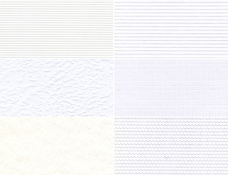 Set of white high-resolution textures for background  photo