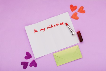 Letter to Valentines Day, confession of love, congratulations