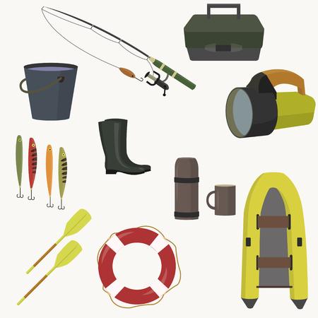 spinning: Set of equipment for fishing.