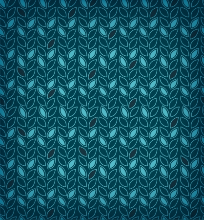 Marine floral pattern  Background with decorative rows of algae  Can use for wallpapers, web pages, cards, arts, surface texture, clothes ornaments Stock Vector - 15506129