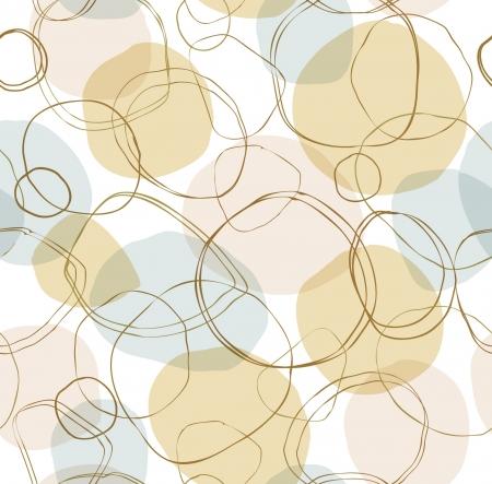 Bright seamless liniowy wzór z ręcznie pogrążają kręgach