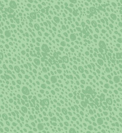 Abstract green vintage seamless background with dots. Retro doodle pattern. Dotted texture Stock Vector - 16552139